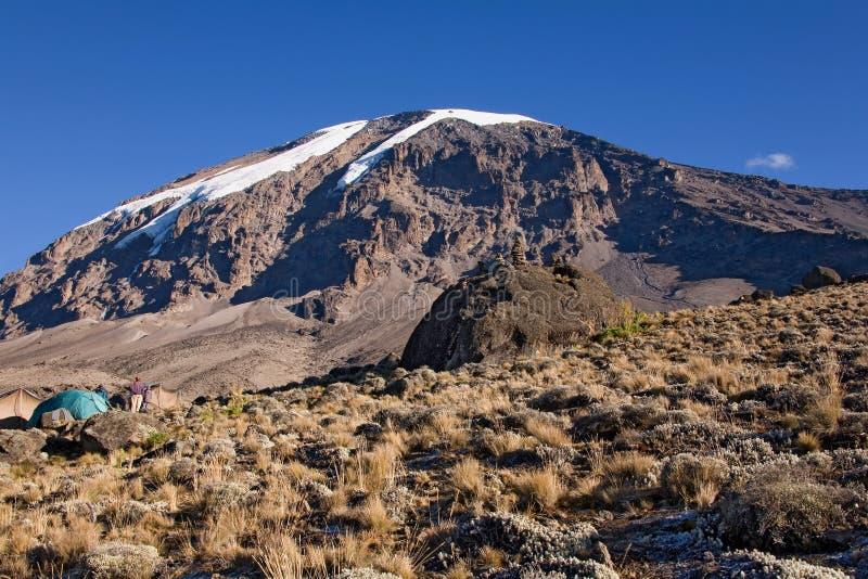Acampamento do karango de Kilimanjaro 021 fotografia de stock