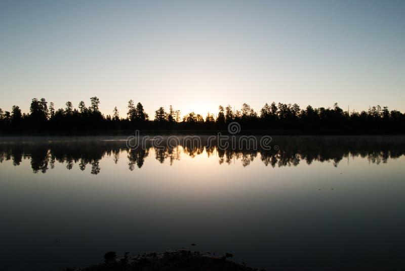 Acampamentos do lago horse branco, WIlliams, AZ imagem de stock royalty free