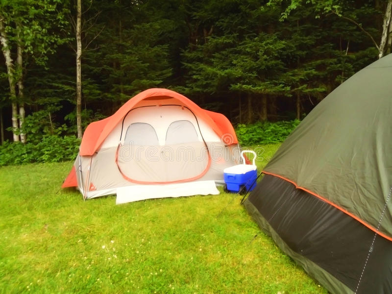 acampar foto de stock