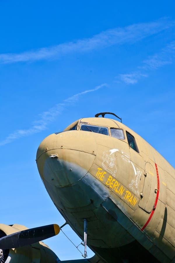 ACandy bombowiec przy mostów powietrznych weteranami Pamiątkowymi w Frankfurt magistrala - Am - obraz royalty free