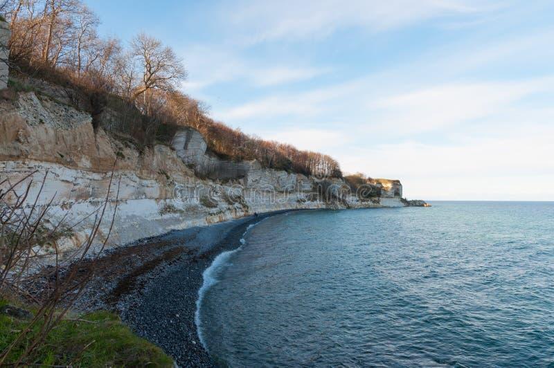 Download Acantilados De Stevns En Dinamarca Foto de archivo - Imagen de costero, formaciones: 100532224
