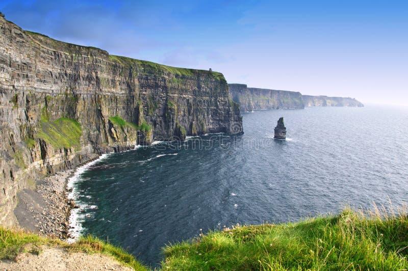 Acantilados del condado Clare, Irlanda del moher foto de archivo