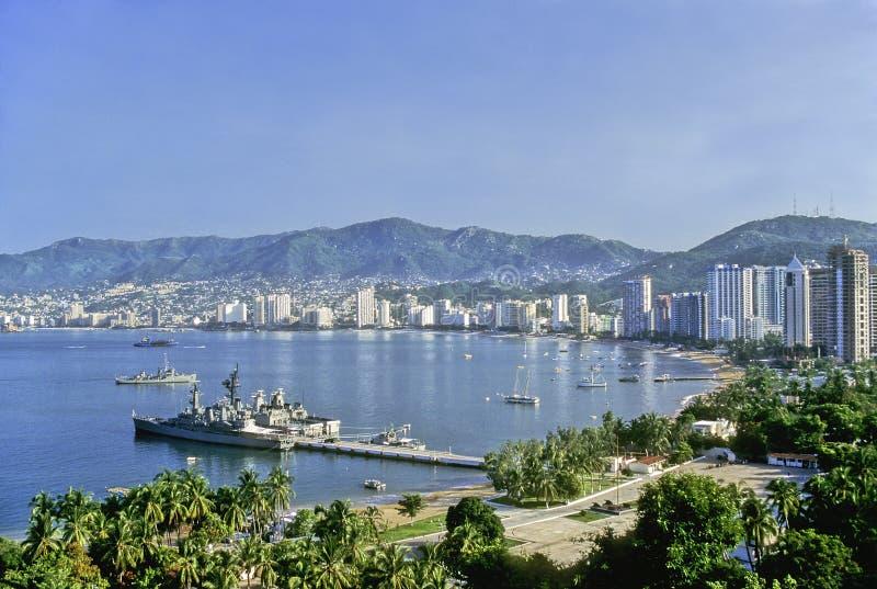 Download Acapulco bay stock photo. Image of acapulco, harbor, resort - 28144692