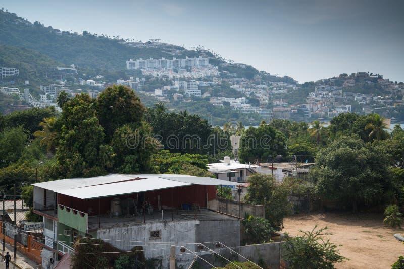 Acapulco de Juarez immagini stock libere da diritti