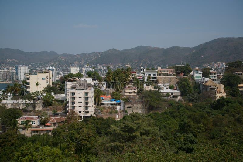 Acapulco de Juarez royaltyfri fotografi