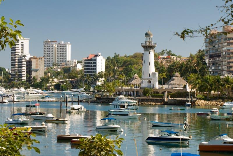 acapulco områdesmexico zocolo arkivfoton