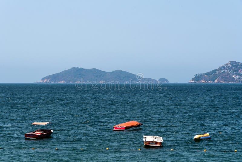 Acapulco-Schacht Mexiko lizenzfreies stockfoto