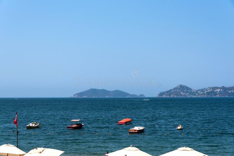Acapulco-Schacht Mexiko lizenzfreie stockfotografie