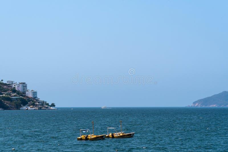 Acapulco-Schacht Mexiko stockfoto