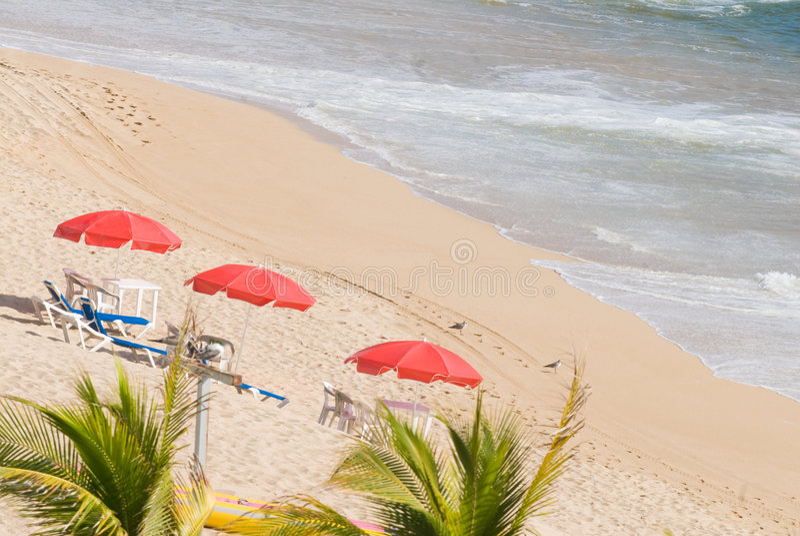Acapulco-Strand lizenzfreies stockfoto