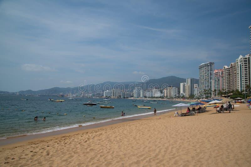 Acapulco-Strand stockfotografie
