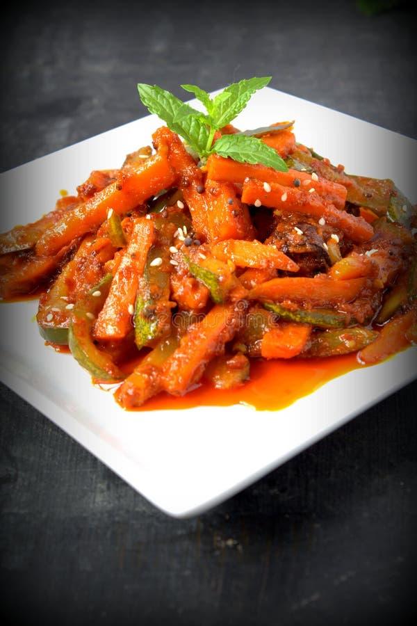 Acar - Malezyjski jedzenie zdjęcia stock