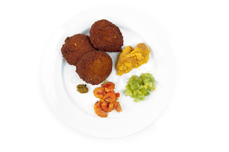 Download Acaraje And Sauces Royalty Free Stock Photo - Image: 11967445