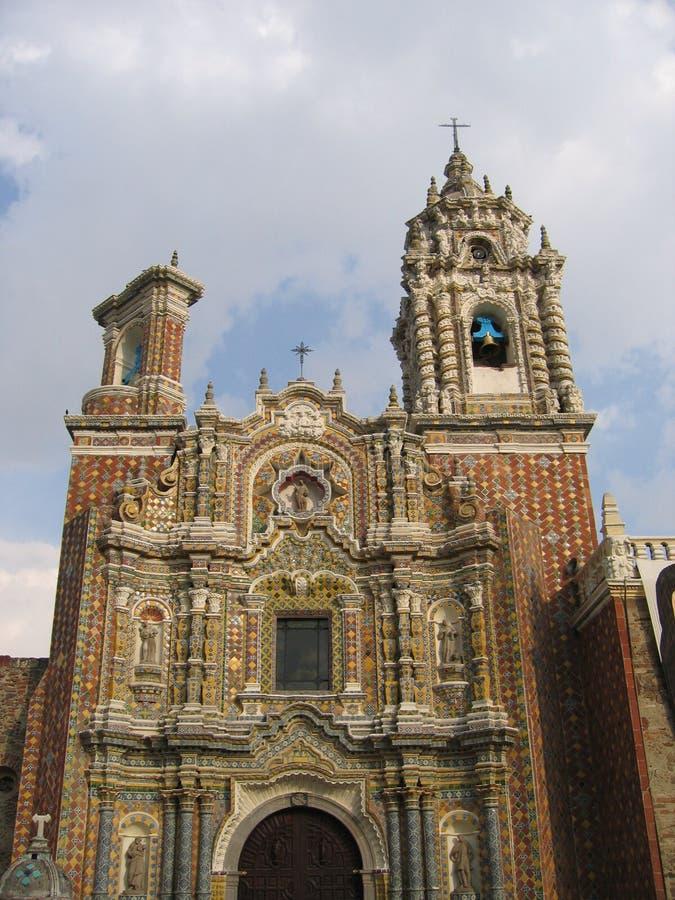 acatepecconventohuejotzingo mexico fotografering för bildbyråer