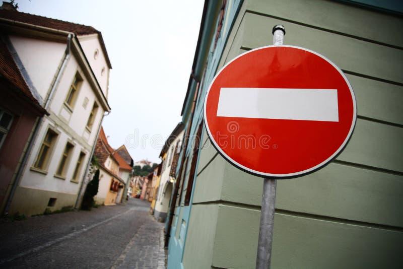 Accès interdit images stock