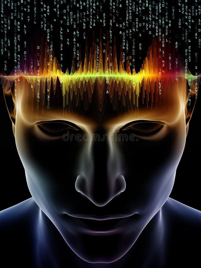 Accélération d'esprit humain illustration libre de droits