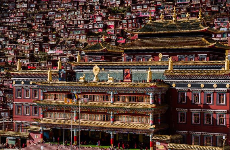 Accademia del buddista di Seda fotografia stock
