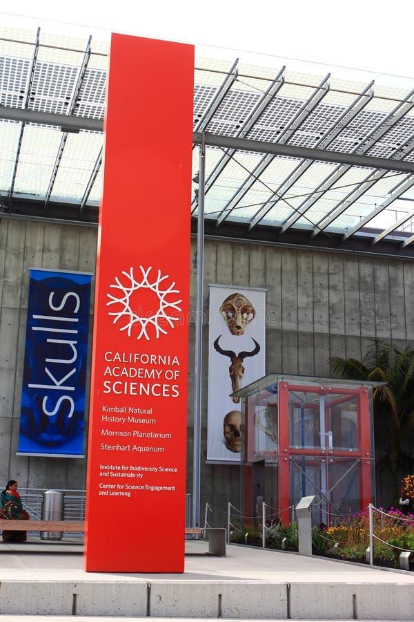 Accademia delle Scienze della California fotografia stock