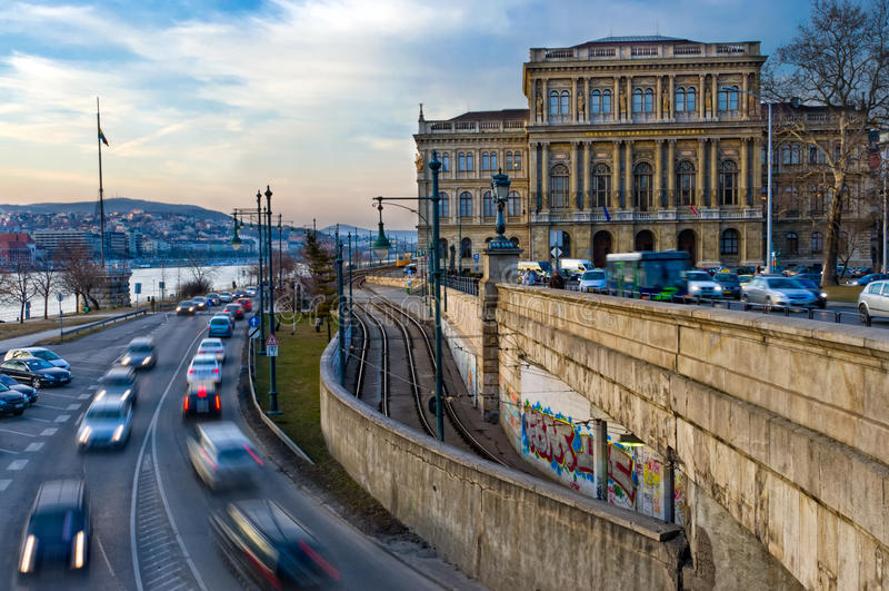 Accademia delle Scienze ungherese immagine stock libera da diritti