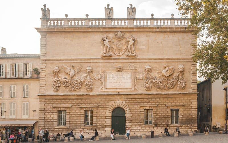 Accademia di musica a Avignone immagini stock libere da diritti