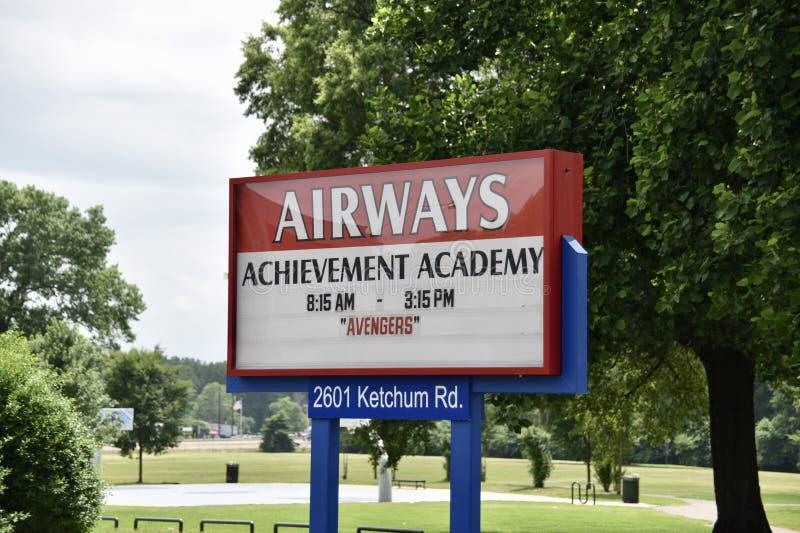 Accademia di risultato delle vie aeree, Memphis, TN immagini stock libere da diritti