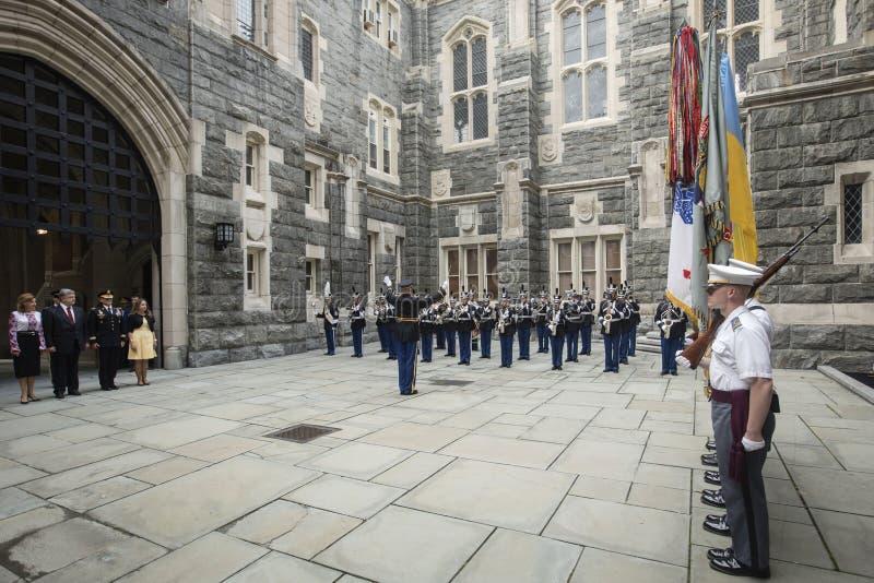 Accademia militare USMA degli Stati Uniti fotografia stock libera da diritti
