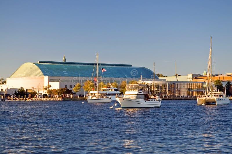 Accademia Navale degli Stati Uniti, Annapolis fotografie stock libere da diritti