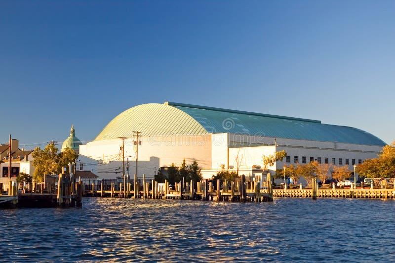 Accademia Navale degli Stati Uniti, Annapolis immagini stock libere da diritti