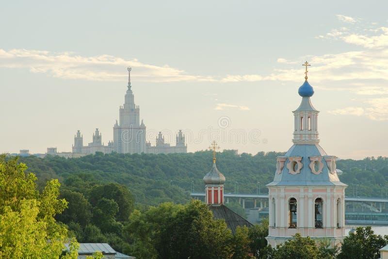 Accademia russa della piattaforma di osservazione di scienze fotografia stock libera da diritti