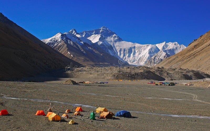 Accampamento basso 2 del Everest fotografia stock libera da diritti