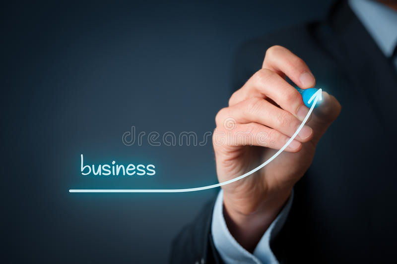 Accelerate business growth stock image