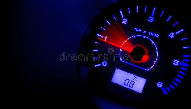 Accelerate!!! RED & BLUE royalty free stock image