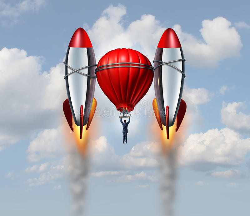 Accelerated Growth stock illustration