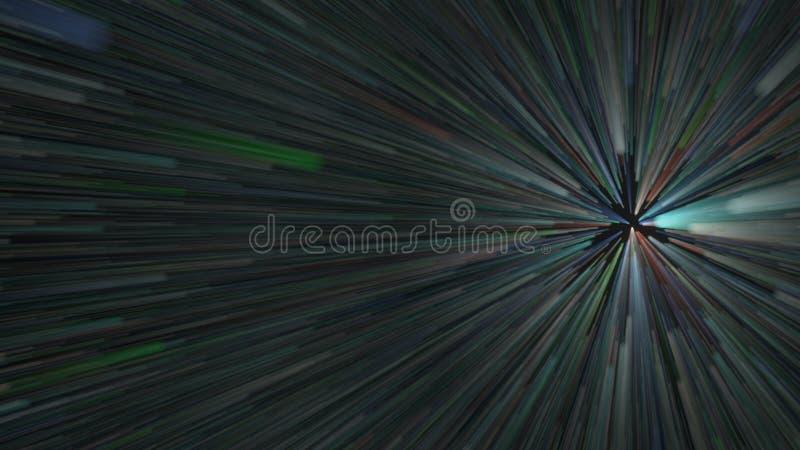 acceleration ilustração do vetor