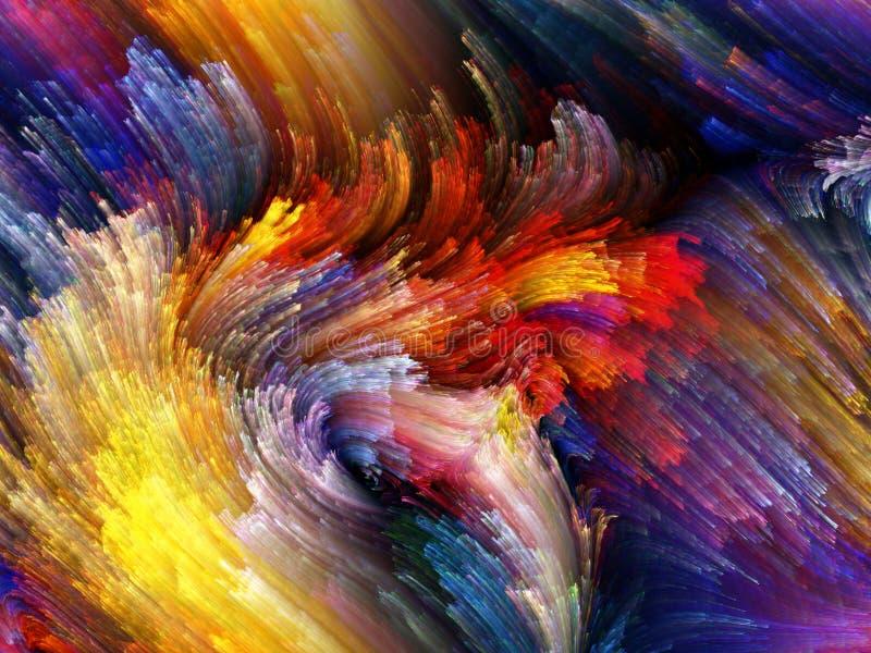 Download Acceleration of Color stock illustration. Image of dynamic - 26420357
