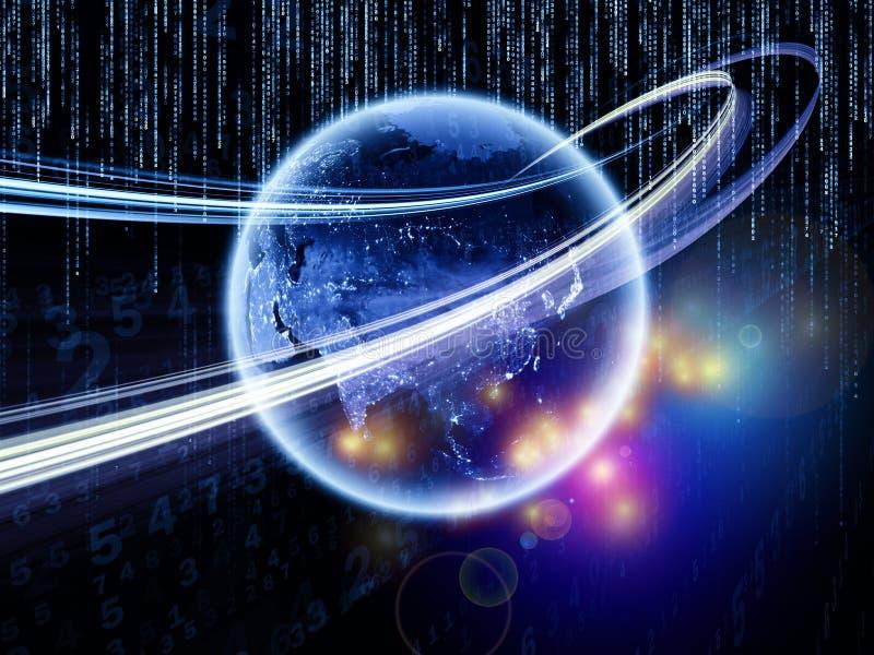 Download Acceleration Of Information Stream Stock Illustration - Image: 27875858