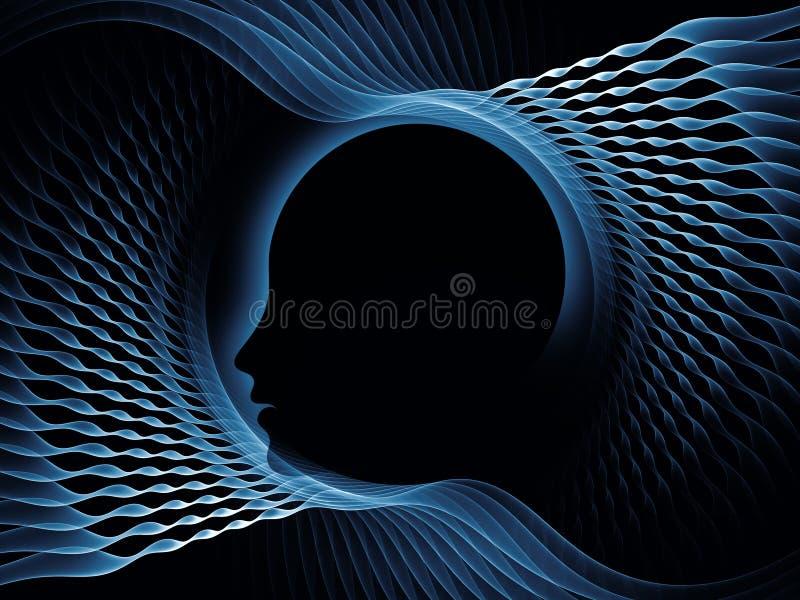 Acceleration of the Mind stock illustration