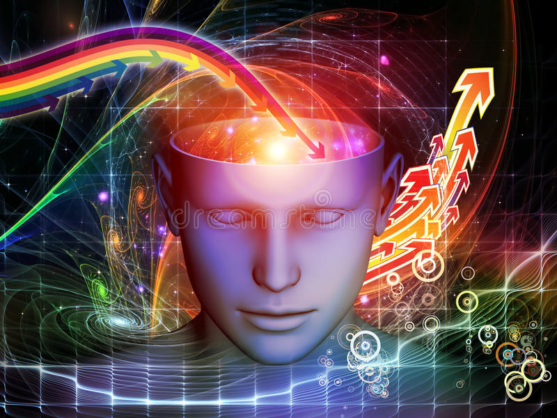 Acceleration Of The Mind Stock Photography