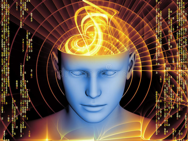 Acceleration of the Mind vector illustration