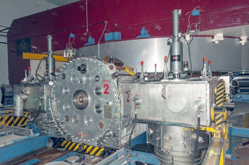 Acceleratore di particelle al CERN fotografia stock