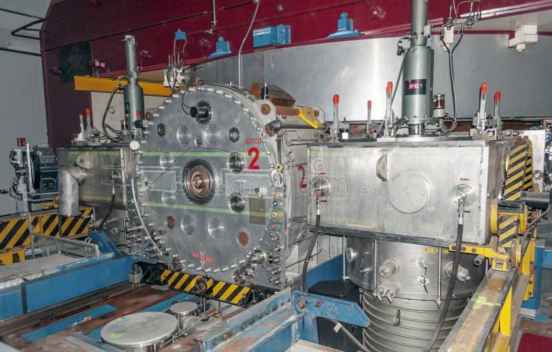 Acceleratore di particelle al CERN immagine stock