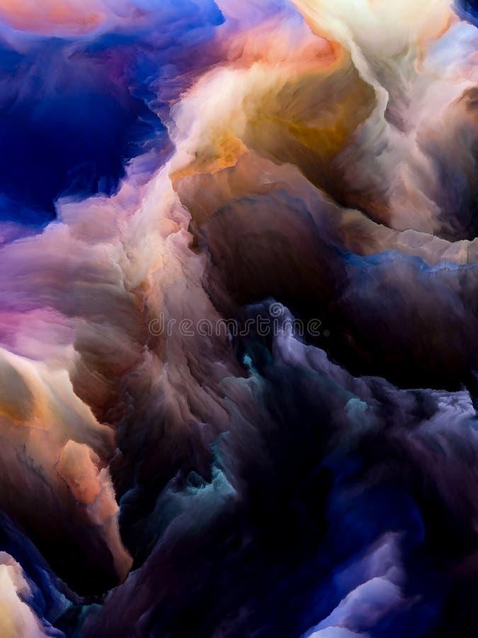 Accelerazione di Cloudscape illustrazione vettoriale