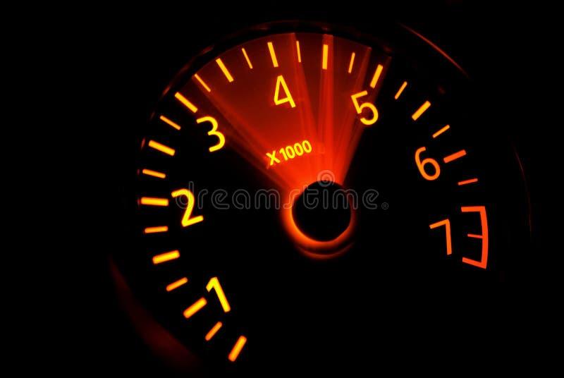 Accelerazione RPM immagini stock libere da diritti