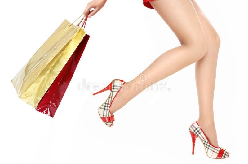 Acceleri in negozio! fotografia stock libera da diritti