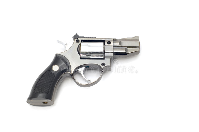 Accenditore del revolver fotografia stock libera da diritti