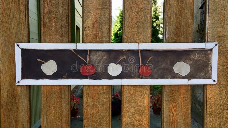 Accento di legno di arte immagine stock