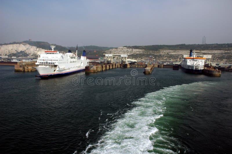 Acceso de Dover foto de archivo