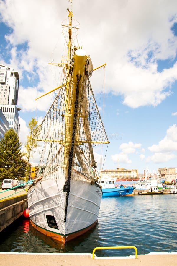 Acceso de Gdynia fotografía de archivo