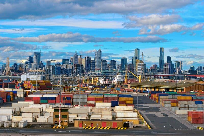 Acceso de Melbourne imagen de archivo