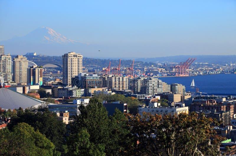 Acceso de Seattle Washington. fotos de archivo